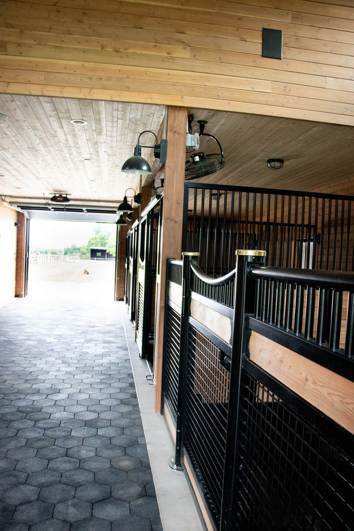 Twin Cities New Construction Barn Pros Equestrian Barn Stillwater Minnesota horse stalls built by Red Pine Builders
